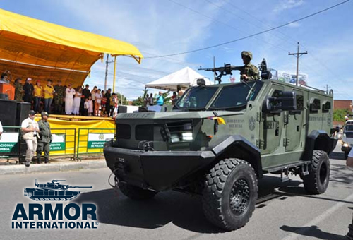 armored tactical vehicle